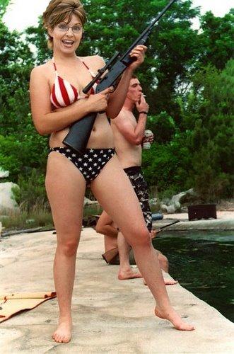 Sarah Palin Bikini Photo. Tags: President Palin